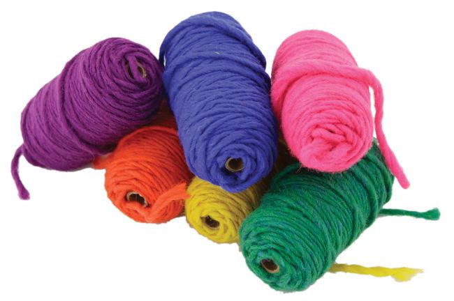 Lap Loom Yarn Variety Pack, 6 Balls