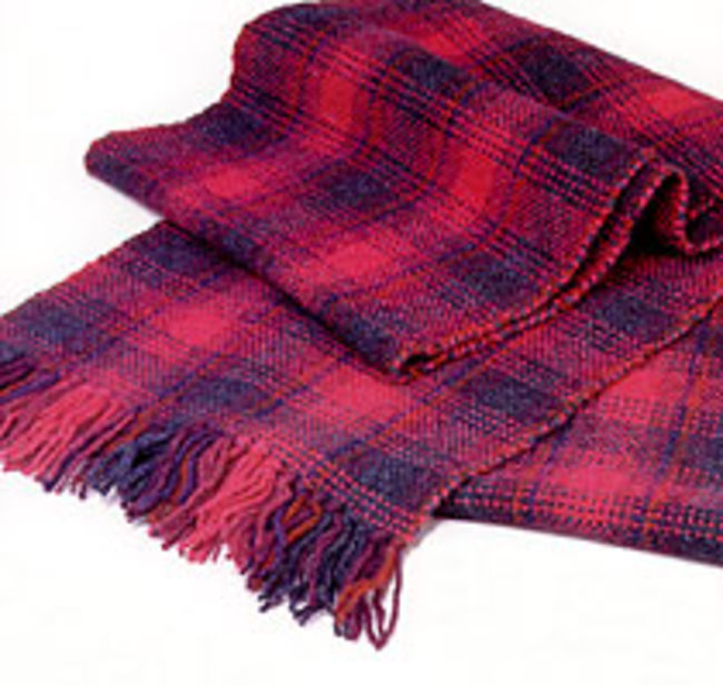 Harrisville Tartan Plaid Refill for Easy Weaver 15""