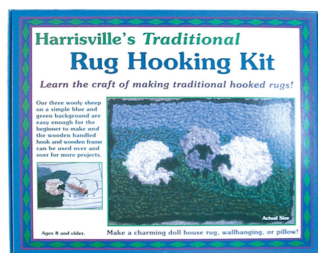 Harrisville Traditional Rug Hooking Kit