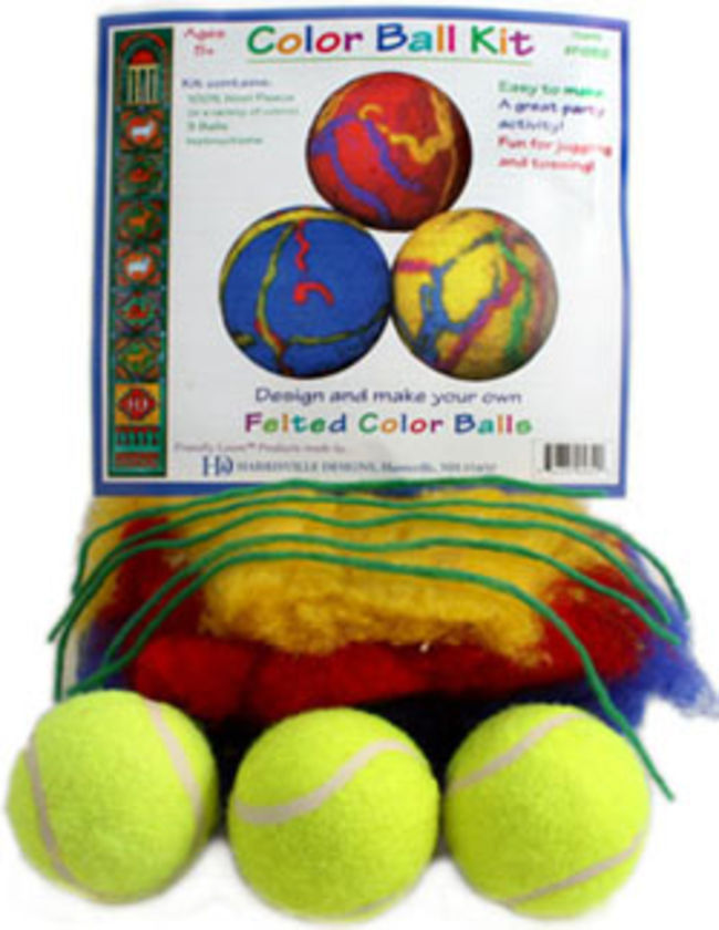 Felted Ball Kit - Harrisville