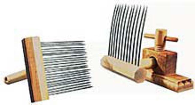 Indigo Hound Viking Combs, Single-row