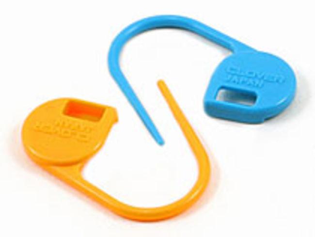 Knitting Locking Stitch Markers : Jumbo Locking Stitch Markers, Knitting Equipment - Halcyon Yarn