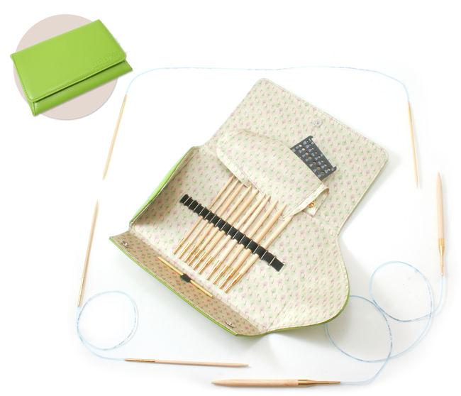 Addi-Click - Bamboo Addi Interchangeable Needle Set