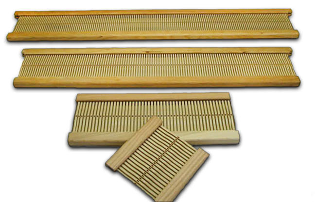 "Beka 24"" Rigid Heddle Loom – Rigid Heddle Reed12 dent"