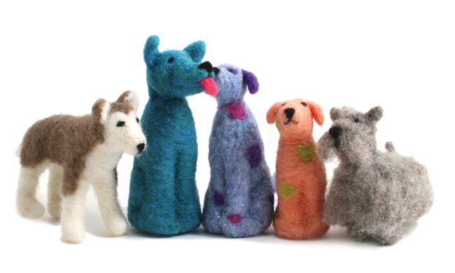 Going--to--the--Dogs:----Introduction--to--Needle--Felting