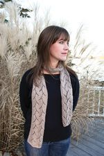 Shell Lace Scarf (image A)