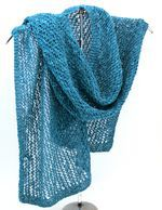 Heirloom Lace Scarf in Signature Block Island Blend (image A)
