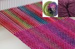 Chill Chaser Woven Scarf Kit - Lavender Field (image B)
