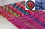 Chill Chaser Woven Scarf Kit  Wildflowers (image B)