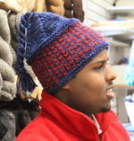 Alpine Topper hat pattern (image E)