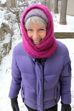 Rippling Ringlet Infinity Cowl - Pattern download (image A)