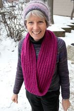 Rippling Ringlet Infinity Cowl  Pattern download (image C)