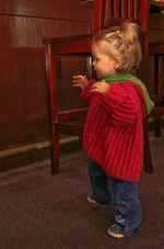 Back Zip Baby Jacket (image B)