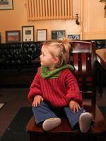 Back Zip Baby Jacket (image E)
