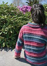 Patterned Kimono Jacket (image B)