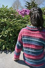 Patterned Kimono Jacket (image C)