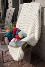 Cabled Afghan (image A)