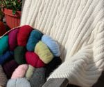 Cabled Afghan (image B)