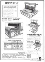 Leclerc Dorothy V2 24quot Table Loom 4shaft (image A)