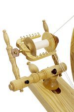 Schacht  Reeves Spinning Wheel 30quot  SingleTreadle Ash (image D)