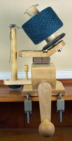 Heavy Duty Wooden Ball Winder (image A)