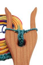 Cherry Lucet by Wool Tree Mill (image A)