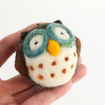 Owl Needle Felting Kit - Woolbuddy (image A)
