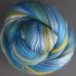 Silk Merino Scarf Kit - Ocean from Ashford (image D)