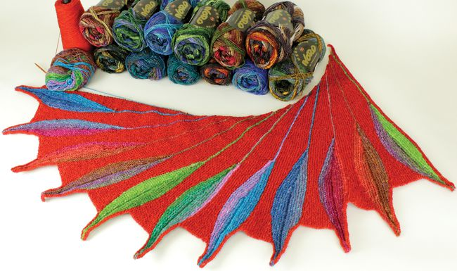 NORO-SILK-GARDEN-SOCK-GWYNN-LEAF-FEATHER
