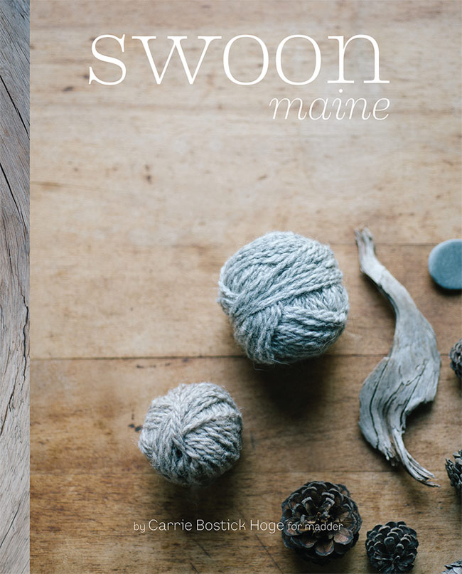 Swoon Maine Has Arrived New Wonderful Book Of Knitting Patterns