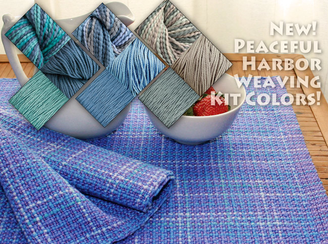 new-colors-for-peaceful-harbor-placemat-weaving-kits