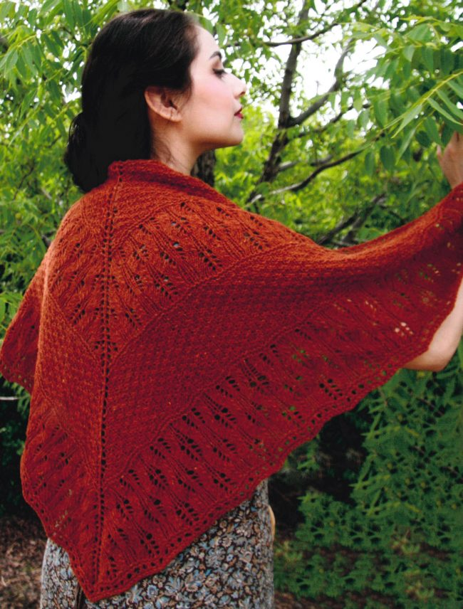 181aa1864 This lovely Copperfield shawl is another wooly