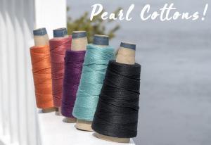 Pearl Cotton Cones