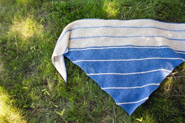 Under The Boardwalk Shawl New Pattern Halcyon Yarn Blog