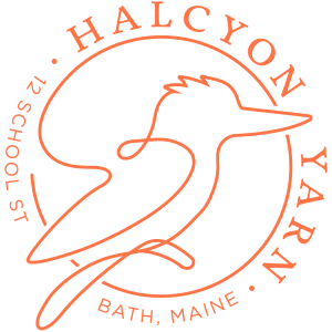Halcyon Yarn Logo Orange