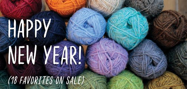 wool yarn new years sale items