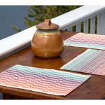 Lovely Day Rep Weave Placemats - Download, Weaving Pattern
