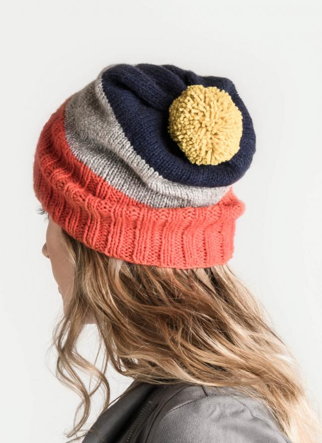 skyline slouch hat back view