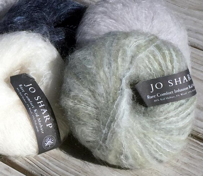 10688a916 Mohair is a great yarn for transitioning between seasons. Light