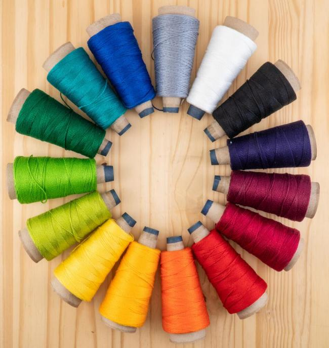 pearl cotton color wheel